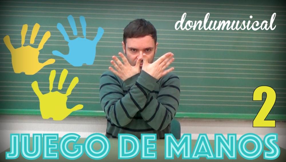 tutorial juego de manos ritmo vasos donlumusical